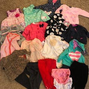 Baby Girl 3 Month Bundle Lot